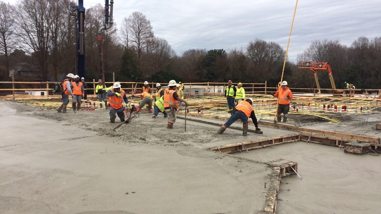 industrial concrete services