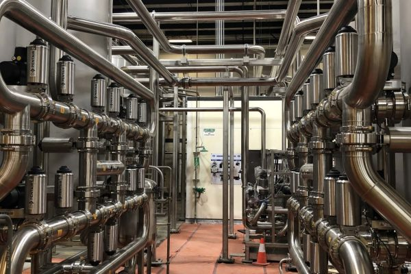 stainless steel process piping